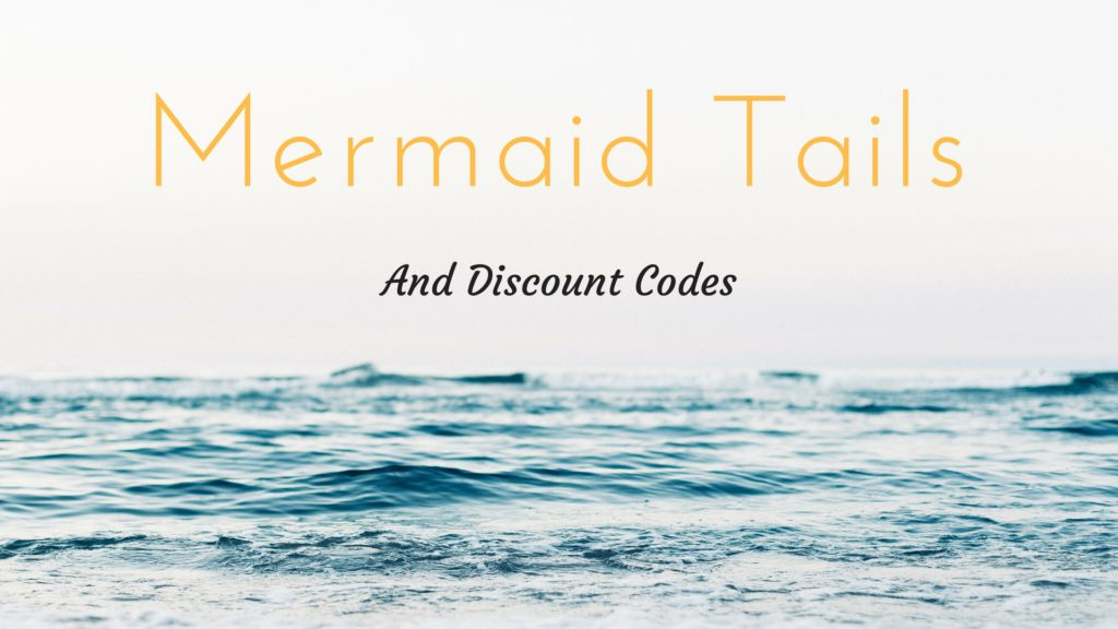 mermaid tail and discount codes